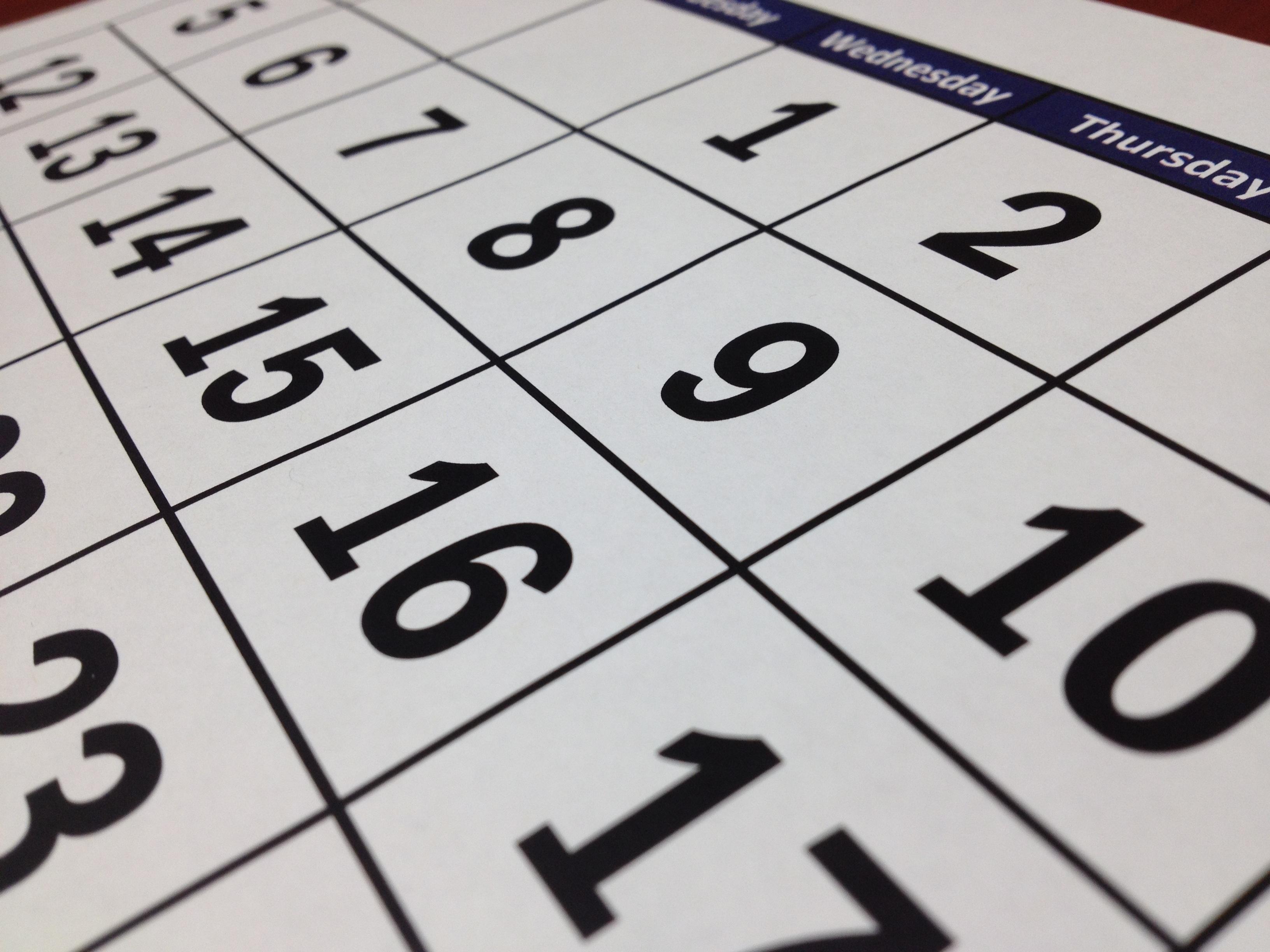 calendar-english