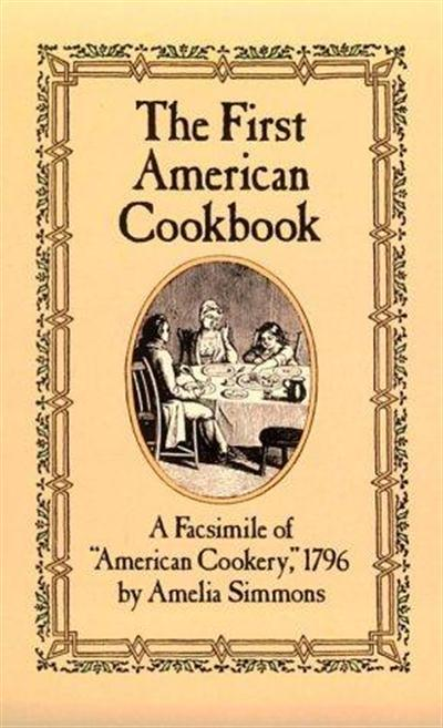 amelia simmons cook book