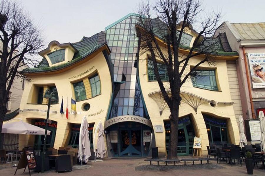 5 домов необычной формы, которые действительно существуют
