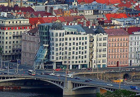 3 дома в Праге с необычным архитектурным замыслом