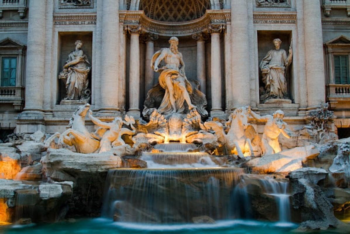 Римский фонтан, который исполняет желания