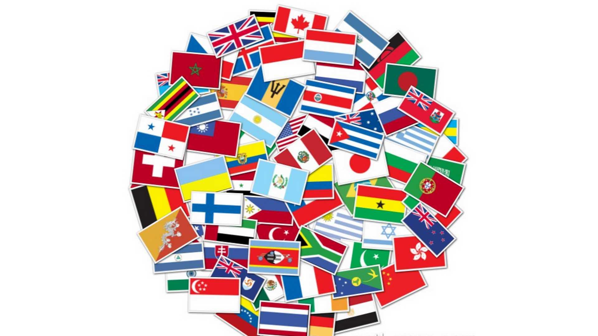 Картинка много стран в одной