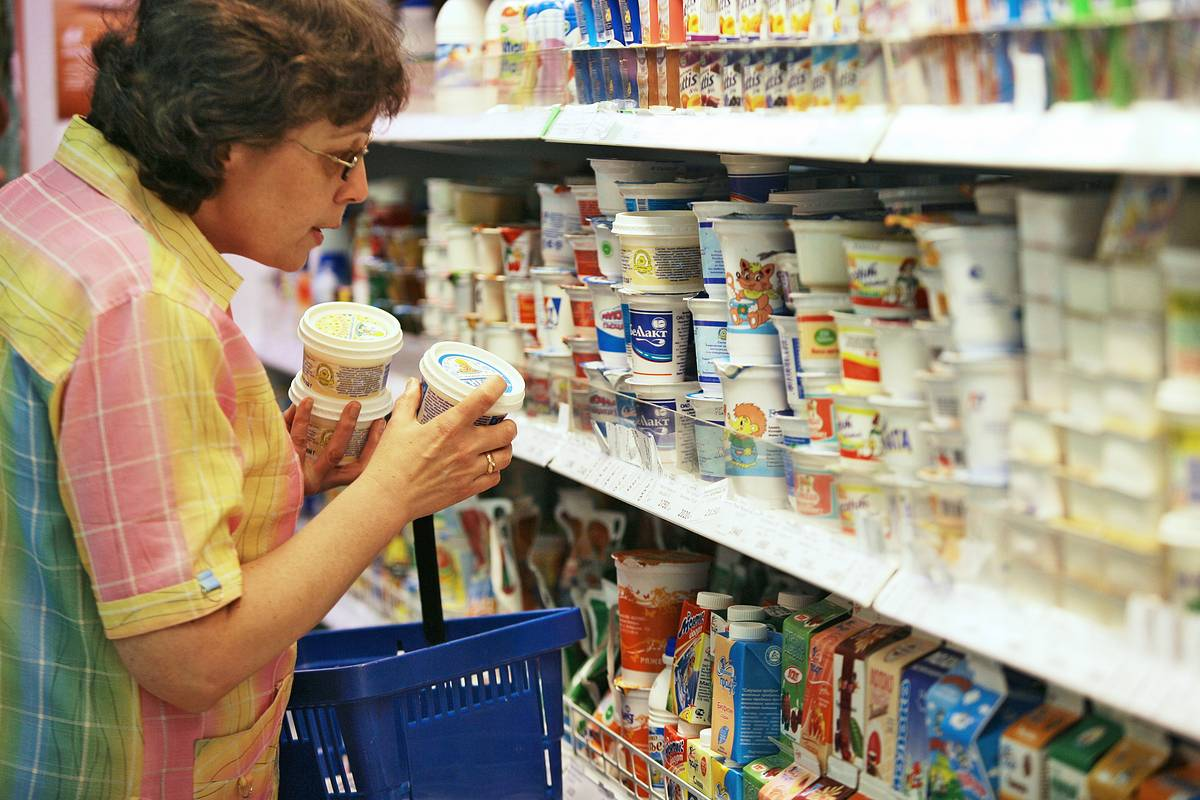 Что продают в русских магазинах за рубежом?