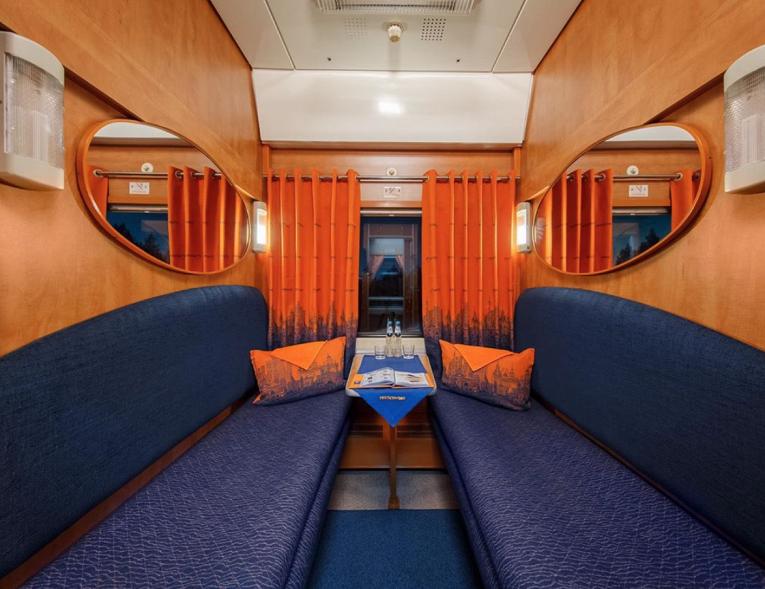 Как изнутри выглядит частный VIP-поезд