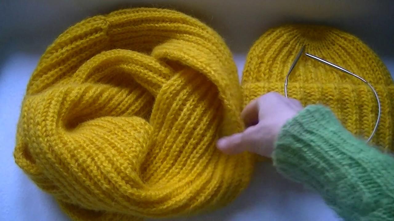 Особенности английского вязания спицами