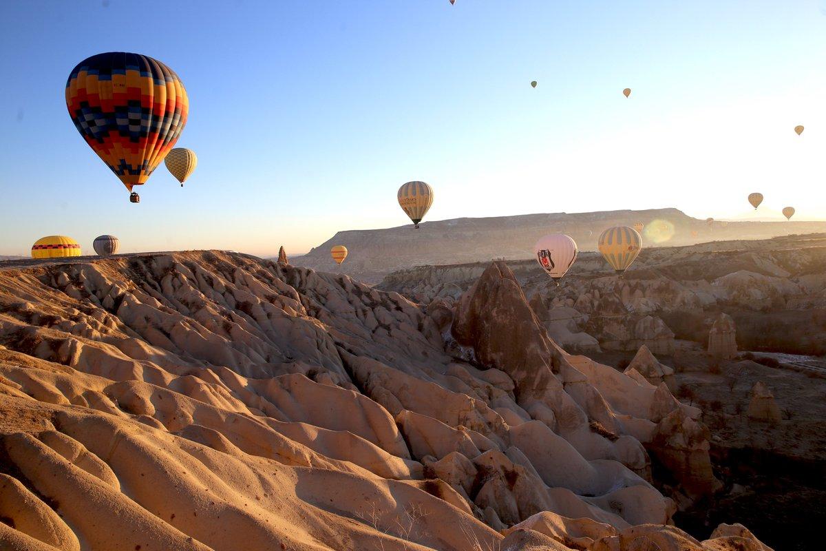 В Каппадокии возобновили полеты на воздушных шарах